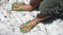 "Flip flops yet there is snow! • <a style=""font-size:0.8em;"" href=""http://www.flickr.com/photos/87636534@N08/8156875098/"" target=""_blank"">View on Flickr</a>"