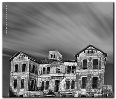 Cortijo Jurado. The house of the panic. (Francisco J. Prez.) Tags: night negro cielo nocturnas mlaga sigma1020mm pentaxart pentaxk5 franciscojprez