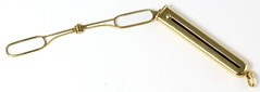 L32. Retractable Gold Lorgnette Pendant