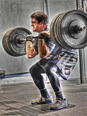 Powerful (Daveyal_photostream) Tags: art nikon hdr weights wod d600 photomatix crossfit tonemapped