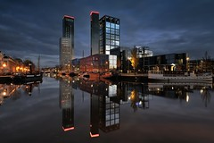CITY LIGHTS,,, LEEUWARDEN (Wim Hazenhoek.) Tags: netherlands lens perfect photographer nederland citylights masterpiece lenses leeuwarden groothoek supershot top20longexposure meesterwerk d700 overtheexcellence nikond700 benrotripod wimhazenhoek vipveryimportantphotos 1635mmf4vr hazenhoek