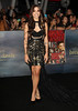 Christina Perri at the premiere of 'The Twilight Saga: Breaking Dawn - Part 2' at Nokia Theatre L.A. Live. Los Angeles, California