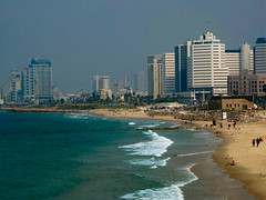 Shoreline at Tel Aviv (Dale Shephard Photography) Tags: beach israel tel aviv
