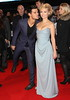 Taylor Lautner and MyAnna Buring The Twilight Saga Breaking Dawn Part 2 UK premiere - arrivals London, England