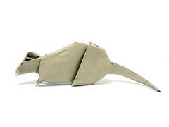 Rat (Al3bbasi.) Tags: animal paper rat origami al3bbasi