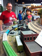 MIT TMRC (Tech Model Railroad Club) open house. 17 Nov 2012 (Chris Devers) Tags: railroad train modeltrain mit ho scalemodel hotrain tmrc massachusettsinstituteoftechnology techmodelrailroadclub exif:exposure=0067sec115 exif:iso_speed=200 exif:focal_length=39mm exif:aperture=f28 camera:make=apple exif:flash=offdidnotfire camera:model=iphone4 exif:orientation=horizontalnormal exif:filename=dscjpg meta:exif=1357693205