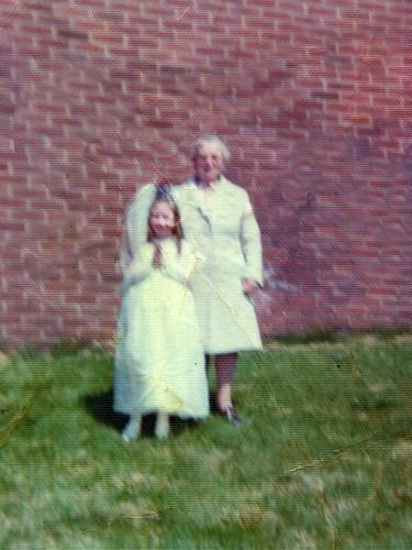 Brenda and mini Hogan 1970's