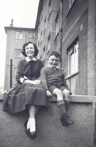 Glenn and Nancy, 1950s