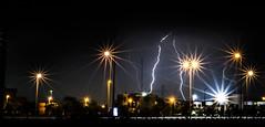 Lightning (M.Alahmadi) Tags: black night lights purple sharp lightning jeddah tahliya