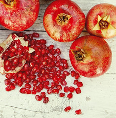 Pomegranate on a table (Nasos Zovoilis) Tags: pink red food white color detail macro broken nature horizontal closeup fruit cutout dessert vegan juicy healthy berry colorful pattern close flavor natural bright sweet cut eating juice background object seasonal group grain harvest seed pomegranate tasty nobody vegetable drop fresh full santorini greece part exotic health vegetarian half tropical backgrounds taste grains organic diet agriculture piece heap arrangement section isolated textured freshness ripe garnet nutrition refreshment dieting useful vitamin antioxidant valuable dietary vitaminized