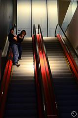 035/365 - Double Oh Seven (littlegirlracer) Tags: escalator spotlight 365 tiff lightbox 007