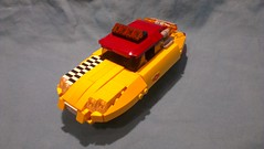 DS2012 BTTF Taxi 01 (JPascal) Tags: lego bttf citroen ds
