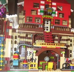 Untitled (adventuresinlego) Tags: santa christmas lego santaclaus moc santasworkshop legomoc