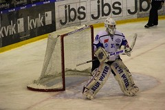 Mlmand (Benny Hnersen) Tags: blue ice hockey water is herning icehockey skate fox tor eis 31 goalkeeper keeper schlittschuh ishockey skjte skjtehal mlmand