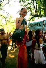 she's got the look (Xuan Che) Tags: girls summer portrait hot sexy film festival oregon costume high july slide scan eugene m42 pacificnorthwest hippie fujifilm flektogon 20mm oregoncountryfair 2012 veneta carlzeissjena velviarvp 2820mm voigtlanderbessaflex