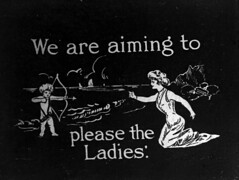 We are aiming to please the ladies