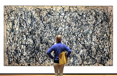 The critic (!STORAX) Tags: ny museum pollock met 07098336