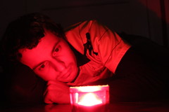 Advent candle (Chris loves photography) Tags: selfportrait advent candle jersey bayernmnchen borussiadortmund diary2012