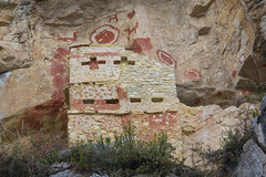 Noughts and Crosses (Jo and the Boyz) Tags: cliff tomb andes chachapoyas preincan chulpas revash peru2011