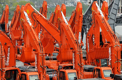 excavators import export in the russian port Vladivostok (Maxim Tupikov) Tags: sea urban tractor industry yard port site bucket construction industrial technology power mechanical many digging destruction wheels transport working machine engineering ground mining equipment business machinery trench transportation exploitation vehicle environment driver build elevation heavy load import backhoe operator bulldozer digger scraper earthmover export excavator manufacture excavation hydraulic