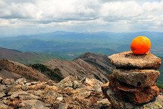 orange on the wild stone heap on the mountain top (Maxim Tupikov) Tags: wood blue wild summer sky panorama orange mountains nature ecology beautiful grass stone clouds landscape highlands woodlands scenery solitude loneliness open view pyramid cloudy russia top unique hill reserve peak pebble valley zen serenity difference environment balance outlook meditation mountainside concept vladivostok grassland desolate heap tranquil desolation primorye lisaya lazovsky