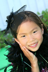 Smiling Portrait (shaire productions) Tags: girls portrait people cute girl smile smiling kids female youth children asian fun happy person photography photo kid child image outdoor chinese young smiles photograph portraiture imagery