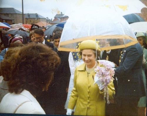 HRH Queen Elizabeth Glasgow 1980s