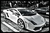 Lamborghini LP560 (Phil 22) Tags: bw white sport 22 phil pentax stage nb gt blanche academy 35 circuit lamborghini hdr rennes motorsport k5 prestige pilotage lohéac 5raw lp560 motorsportacademy olonéo