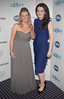 Julie Byrne and Sarah Murphy at The Butterfly Ball in aid of Debra Ireland at The Burlington Hotel.Pix Brian McEvoy.