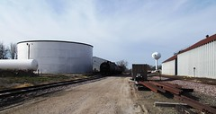 Nevada, Iowa, Union Pacific Railroad, Tank Cars, Siding (photolibrarian) Tags:
