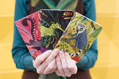 Meg Hunt's Animals 3-Pack (scoutbooks) Tags: notebook book graphicdesign creative sketchbook portlandoregon printmedia sustainable recycledpaper pantone chipboard makeyourown offsetprinting soyink greendesign creativedesign meghunt pinballpublishing saddlestitch pocketnotebook greenprinting scoutbook ecofriendlyprinting pocketperfect offsetprintshop printingmadefun printitem spotcolorprinting custompocketnotebook sustainableprinting pantonesoyinks perfectpocketnotebook