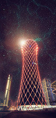 Eye of Tornado (Jack.Less) Tags: world tower jack surreal lightning universe tornado jacopo less linking doha qatar spina tornadotower jackless jacklesspop jacklesshop