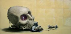 NATIVO DE INNSMOUTH oleo 60 x 30 (emy mariani) Tags: art paint arte canvas horror pintura cuadros oscuridad