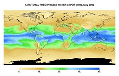 nasa jpl watervapor airs atmosphericinfraredsounder