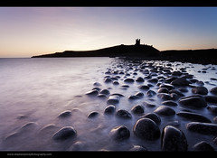Rock Garden (Steve-P2010) Tags: longexposure castle dawn coast waves northumberland coastal le northsea predawn dunstanburgh