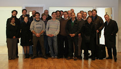 The group at the close of the day (Adrian Midgley) Tags: project open general it software practice highgate source andmeofcourse tactix4 opengpsoc