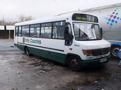 Holly Coaches AY51EFG Chapel-en-le-Frith (Guy Arab UF) Tags: bus buses mercedes benz derbyshire holly beaver hadleigh beeston coaches independents vario plaxton chapelenlefrith o814d ay51efg