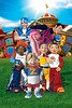 The LazyTown Gang (iCosplayy) Tags: pixel stephanie trixie ziggy stingy lazytown sportacus robbierotten children´stelevisionseries