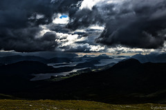 Heavy Weather (jforberg) Tags: 2016 frostatinden cloudy climb sky sea water dark norway noregia norwegian norwegen norge rain wether heavy forberg