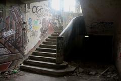Sanatorium (AlexianeTr) Tags: abandonned tags abandonn sanatorium france light lumire stairs escaliers urbex