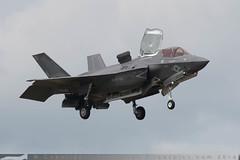 168726/VM-18 - Lockheed Martin F-35B Lightning II [BF-28] - US Marine Corps / VMFAT-501 - Royal International Air Tattoo / RAF Fairford - 6 July 2016 (Leezpics) Tags: fighteraircraft royalinternationalairtattoo fairford jointstrikefighter militaryaircraft lockheedmartin f35 riat airshows lightningii 168726 usmc usmarinecorps stealth jsf 6july2016