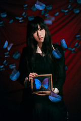 Butterfly of funeral (black_eyes) Tags: hana