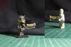 The laser rifle completed. (talanter_man) Tags: fallout custom laserrifle lego