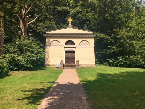 Mausoleum von Herzogin Louise im Schlosspark Ludwigslust