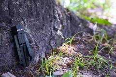 just Enderman (azyef94) Tags: enderman toy toyphotography toys mojang minecraft photography tree