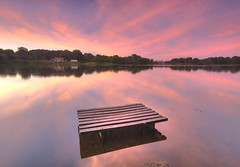 Carr Mill Dam (Jeffpmcdonald) Tags: carrmilldam sthelens merseyside uk lancashirepowerboatracingclub nikond7000 jeffpmcdonald aug2016 sunrise