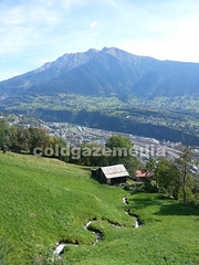 20150927_121655 (coldgazemedia) Tags: photobank stockphoto scenery schweiz switzerland swissvillage swissalps landscape brig birgish mund alps mountain swisshuts alpine alpinehut bluesky blue mountainhuts green meadow outdoor panorama