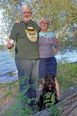 1192 (Jean Arf) Tags: trumansburg ny newyork summer 2016 cayuga lake kevin joanne annie dog