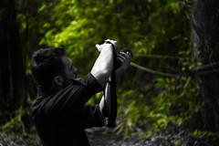 IMG_0688_1 (pavel.milkin) Tags: thailand phangngan tonprai forest jungle leaves tree man sincity blackmask blackwhite gogreen green travel canon canon550d 550d helios helioslens helios442 442 old colour endlesssummer bokeh bokehlicious