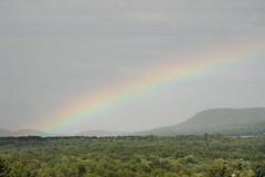 Rainbow (historygradguy (jobhunting)) Tags: stillwater ny newyork upstate saratoganationalhistoricalpark saratogabattlefield landscape hills mountain willardmountain rainbow endoftherainbow